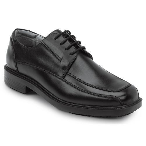 - SR MAX Manhattan Men's Black Slip Resistant Dress Shoe - 10.5 M