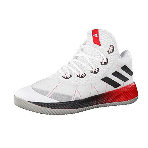 adidas Energy Bounce BB, Zapatillas de Baloncesto Para Hombre, Blanco (Ftwbla/Reflec/Escarl 000), 46 2/3 EU