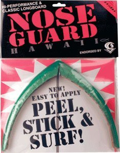 - Surfco Longboard Nose Guard Kit - Green Tint