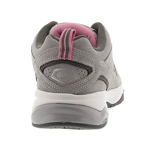 New Balance Women's 608v4 Suede,Grey/Pink,US 6.5 2A by New Balance (Image #5)