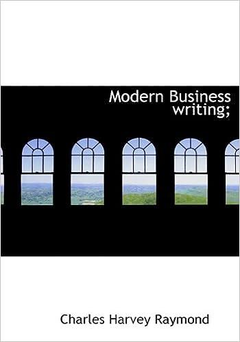 Laden Sie Google E-Books herunter Modern Business writing; in German PDF PDB CHM 1113831030