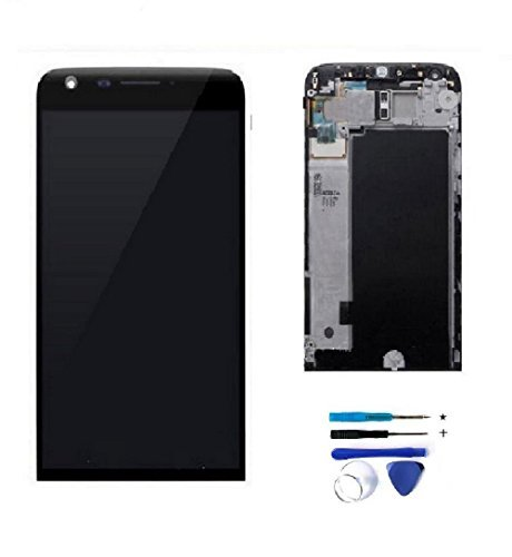LCD Display Touch Screen Digitizer Assembly Replacement Part + Frame for LG G5 H840 H850 H820 H831 VS987 LS992 with Tools - Broken Fix Glasses To Ways