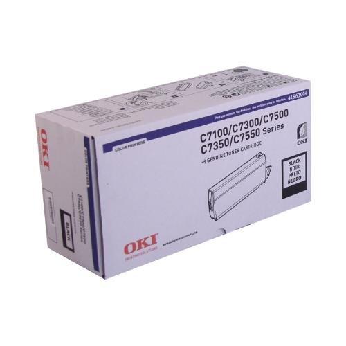 C7500 Printers Series (Oki 41963004 OEM Toner - C7100 7300 7350 7500 7550 Series Black Toner (10000 Yield) OEM)