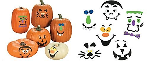 Fun Express Pumpkin Decorating Craft Kit (50 pcs) -