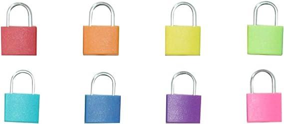 TOYANDONA Cerraduras de Aprendizaje con Llaves Juego de Cerraduras de Colores Juguetes Educativos de Aprendizaje Preescolar para Niños (Cerraduras de 8 Colores sin Caja de Madera): Amazon.es: Juguetes y juegos