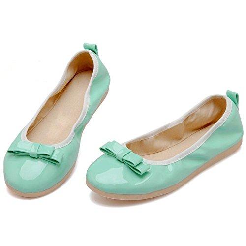 24 Donna TAOFFEN Dolce Ballerine Light Green Scarpe KYWvdSWTq