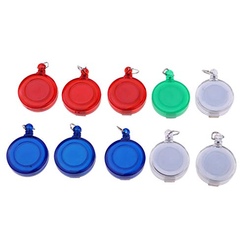 NATFUR 10pcs Retractable Key Reel Recoil Cord Key Ring Pull Chain Belt Clip Camping Elegant Cute for Men Holder Perfect for Gift Novelty Beautiful -