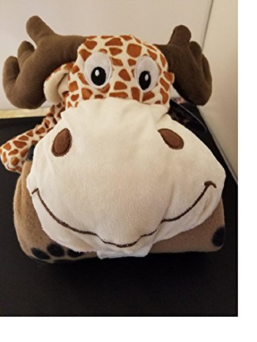 Price comparison product image Plush Kids Moose Blanket
