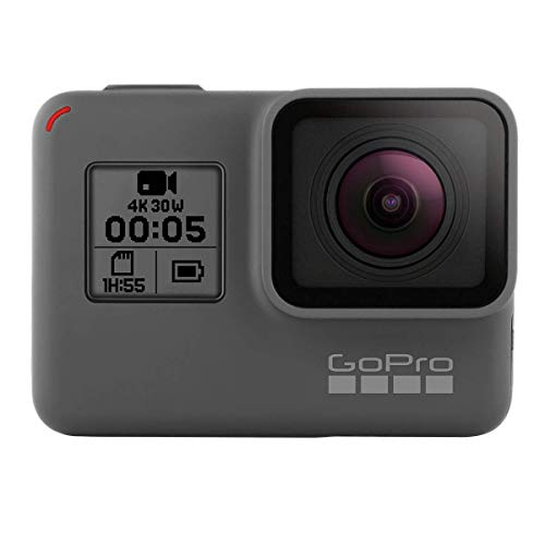 GoPro HERO5 Black Waterproof Digital Action Camera w/ 4K HD Video & 12MP Photo (Certified Refurbished)