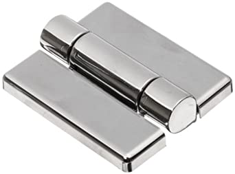 """Friction Hinge with Hole, Zinc Alloy, Chrome, 2-9/16"""" Leaf Height, 1-31/32"""" Open Width, 17.0 lbs/in Torque per piece (Pack of 1)"""
