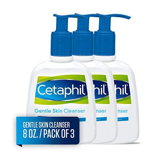Cetaphil Gentle Skin Cleanser, 8.0 -Ounce Bottles (Pack of 3)