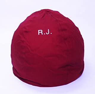 product image for Bean Bag Chair Adult Size Large Personalized Embroidered Comfy Bean - Burgundy