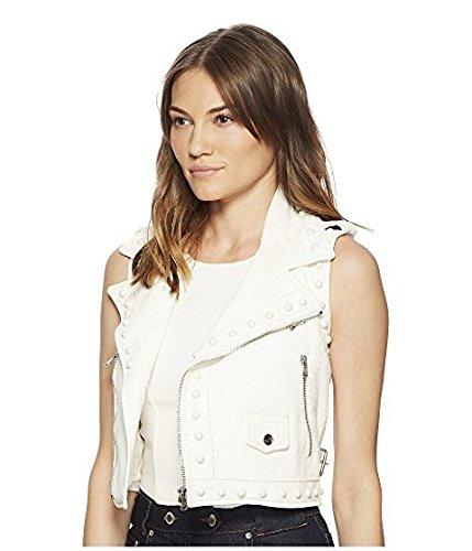 レッド ヴァレンティノ RED VALENTINO レディース コート Latte Leather Vest with Boules [並行輸入品]