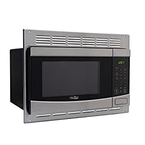 Amazon.com: RV Stainless-Steel Microwave 1.0 cu ft. With