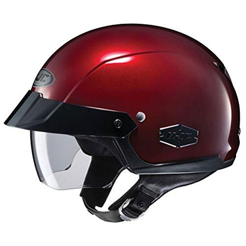 HJC Solid Men's IS-Cruiser Street Bike Motorcycle Helmet - Wine ()