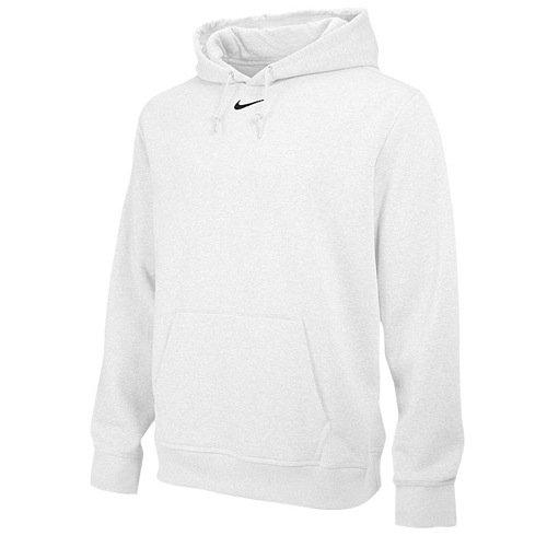 Nike+Team+Club+Men%27s+Fleece+Training+Hoodie+%28M%2C+White%29