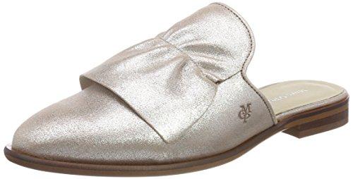Marc O'Polo Women's Sabot 80214153702100 Loafers Silver (Silver 165) bu7bf7smy