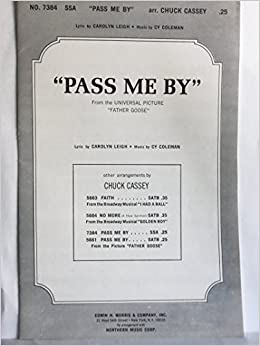 Pass Me By from the Universal Picture
