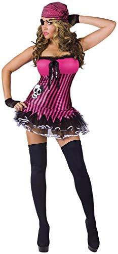 Rockin' Skull Pirate Adult Costume -