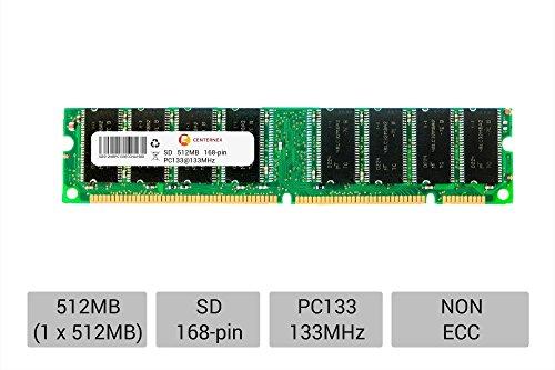 (512MB STICK DIMM SD NON-ECC PC133 133 133MHz 133 MHz SDRam 512 512M Ram Memory by CENTERNEX )