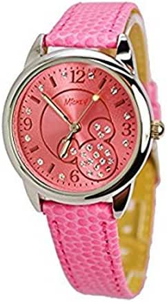 Disney Watch With Crystals Mickey Mouse. A5-2514. Analog Large Display.
