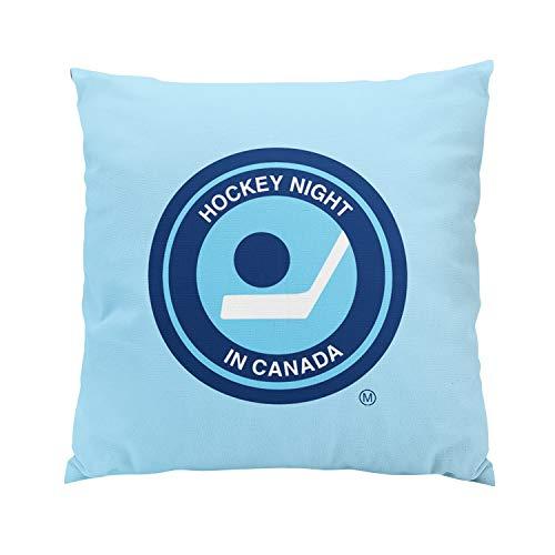 Suike Hockey Night in Canada Retro Logo Romantic Hidden Zipper Home Sofa Decorative Throw Pillow Cover Cushion Case Square 18x18 Inch Two Sides Design Printed Pillowcase (Cbc Hockey Night In Canada Coaches Corner)