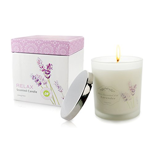 Clear and Fresh Natural Scented Candle with Organic Oil, Aro