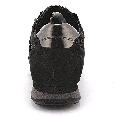 mujer s de York para Gabor schw Zapatos S nougatk cordones wpfXnCq