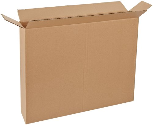 Aviditi 30524FOL Side Loading Box, 30'' Length x 5'' Width x 24'' Height, Kraft (Bundle of 10) by Aviditi