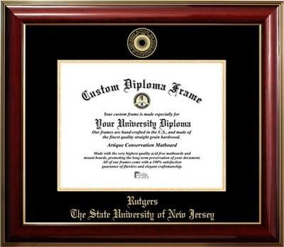- Rutgers University Gold Medallion Diploma Frame (11 x 14)