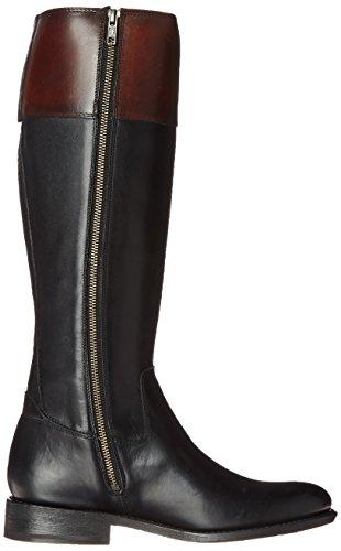 FRYE Womens Jayden Button Tall-SMVLE Riding Boot Black/Multi-76095 r9pcZ