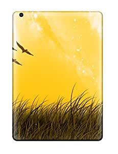 Air Scratch-proof Protection Case Cover For Ipad/ Hot Landscape Lanscape With Birds Digital Phone Case by icecream design