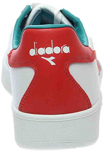 Plate Diadora Plateforme WHITE RED GREEN Adulte Mixte à Elite Pompes B xXZnwgrXqB