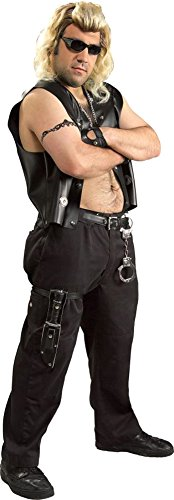 Dog The Bounty Hunter Halloween Costumes (Dog the Bounty Hunter Costume - Standard - Chest Size 40-44)