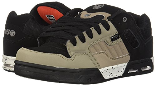 Dvs Cuir Noir Heir Pour Taupe De Skate Chaussures Hommes Enduro Footwear 8wHUrp1q8