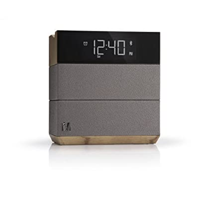 Soundfreaq Sound Rise Wireless Bluetooth Speaker + Alarm Clock with FM Radio and USB Charging Port
