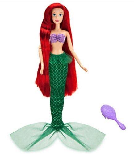 "Disney Princess Little Mermaid Singing Ariel Doll - 17"" H"
