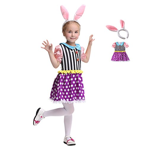 COUCOU Age Animal Rabit Cosplay Dress Costume Apparel For Children -
