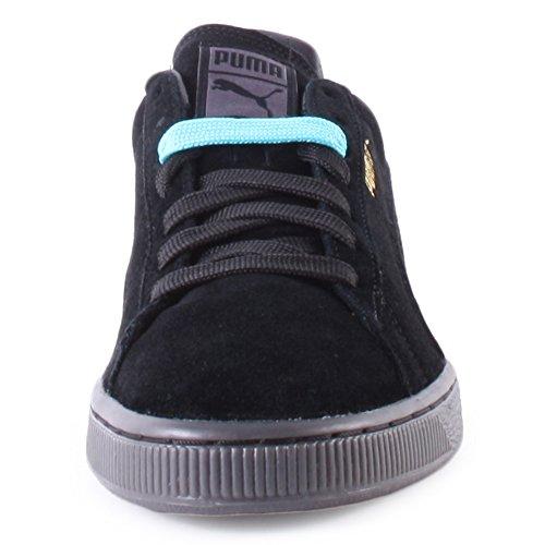 Puma Mono Iced, Herren Sneakers Schwarz (Black)