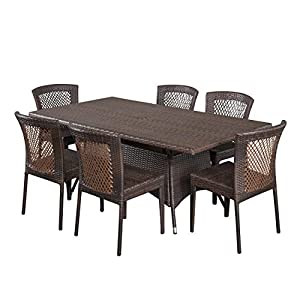 41ZgIHapwfL._SS300_ Wicker Dining Tables & Wicker Patio Dining Sets