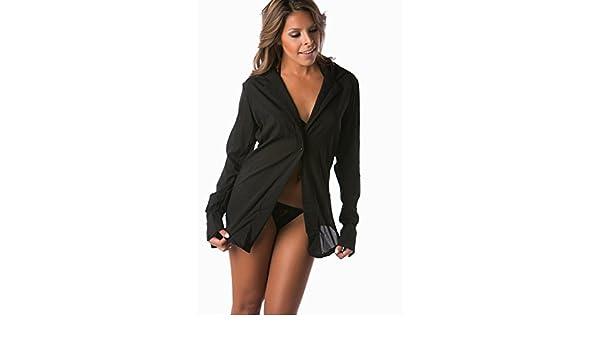 9470b0d39e7 Lena Style Women Sheer Night Shirt Pajamas Sexy Lingerie Sets with ...