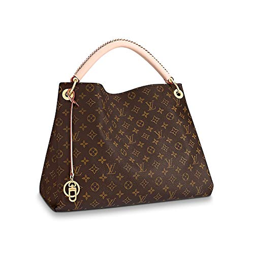 LLVV Women's Monogram canvas Artsy MM Shoulder Bag