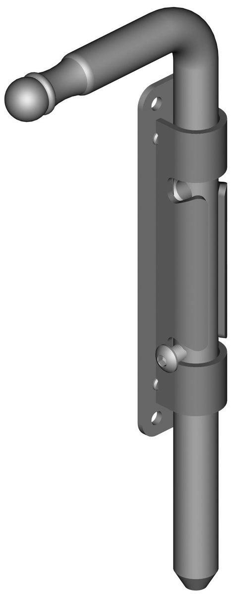 H180 Platine /à Visser de 36Mm Verrou Baionnette