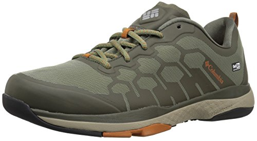 Columbia Men's ATS Trail FS38 Outdry Hiking Shoe, Cypress, Bright Copper, 9  D US