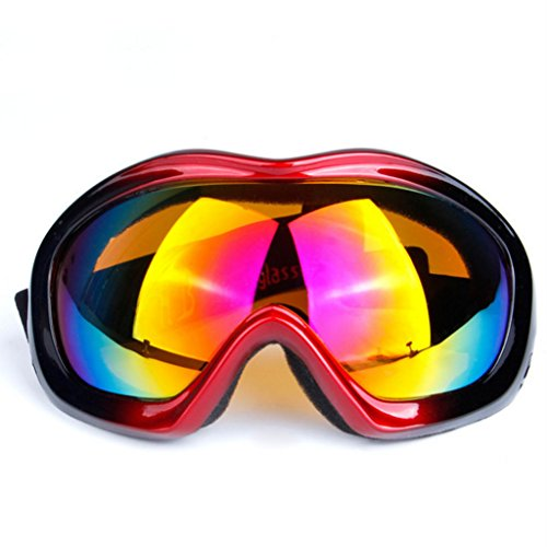 Espejo B Prueba una Parabrisas Ojo a PC A Sola esférica Prueba esquí de explosiones Capa de de Lente de Viento Vidrios Gafas U1I5dCqOwU