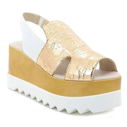 Toocool Chaussures Champagne À Brides Femme xZxOBw