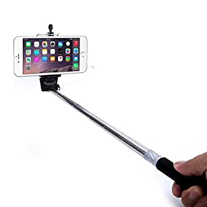 minisuit selfie stick battery free for apple android with wire earphone jack. Black Bedroom Furniture Sets. Home Design Ideas