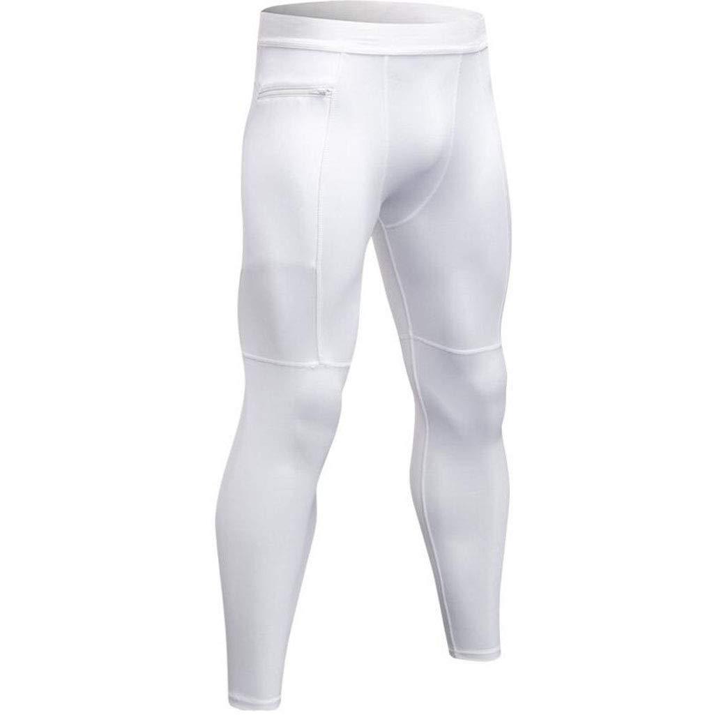 CHENGXINGF Pantalones Deportivos de compresión para Hombres ...