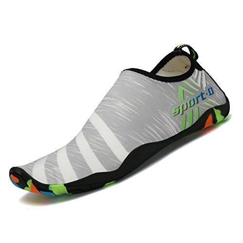 Femmes Water Saguaro Surf Gris Schage Aqua Plage Hommes Unisexe Chaussettes Barefoot Shoes Rapide Pour Swim PP4Rg