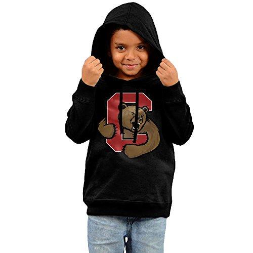 FGFD Kids Bear Unisex Hoodies Black Size 3 Toddler